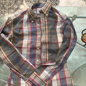 Brooks brothers flannel